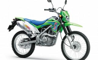 Di Luar Kebiasaan, Kawasaki KLX150L Hadir dengan Nuansa Retro - JPNN.com