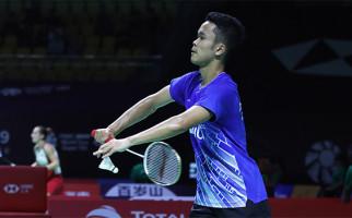 Fuzhou China Open 2019: Ginting Bertekuk Lutut di Hadapan Ka Long - JPNN.com