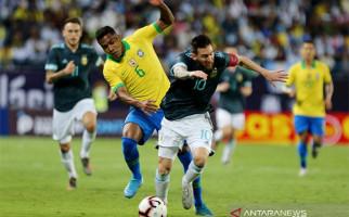 Lionel Messi Cetak Gol Semata Wayang dalam Laga Brasil Vs Argentina - JPNN.com