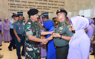 51 Perwira Tinggi TNI Naik Pangkat, Pati TNI AD Terbanyak - JPNN.com