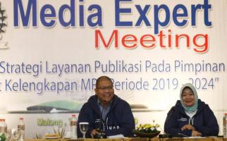 Wartawan Apresiasi Kinerja Biro Humas MPR - JPNN.com