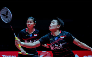 Klasemen Grup A Ganda Putri BWF World Tour Finals 2019, Greysia/Apriyani Gigit Jari - JPNN.com