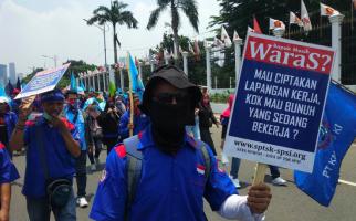 Ada Demo Buruh di Depan Gedung DPR, Ini Skema Pengalihan Arus Lalu Lintas - JPNN.com
