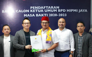 Indra Rukman Resmi Daftar Pemilihan Ketum HIPMI Jaya - JPNN.com
