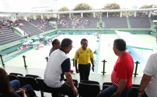 Menpora Saksikan Pertandingan Tim Davis Indonesia vs Kenya - JPNN.com