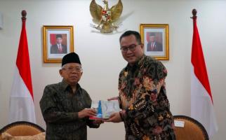 Terima Rektor IPB, Wapres Ma'ruf Singgung Kesulitan Impor karena Wabah Virus Corona - JPNN.com