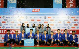 Unikom Pertahankan Gelar LIMA Badminton GJC Season 8 - JPNN.com