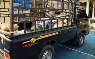 Di Dalam Mobil Petani Bukan Hasil Bumi, Saat Dibongkar Polisi Isinya... - JPNN.com
