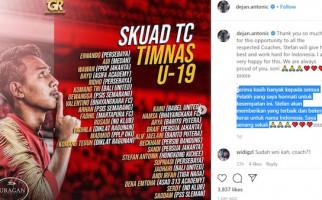 Dejan Antonic Sebut Anaknya Dapat Panggilan ke Pemusatan Latihan Timnas U-19 - JPNN.com