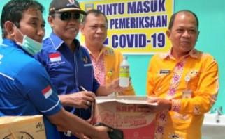 Bambang Demokrat Gelontorkan APD ke RS Sultan Imanuddin - JPNN.com