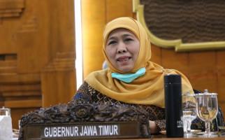 Update Corona 4 April 2020 di Jatim, Bu Khofifah Sampaikan Kabar Gembira - JPNN.com
