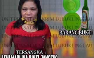 Mbak Leni Marlina Sangat Ganas, Mantan Suami pun Terkapar Dibuatnya, Lihat tuh Fotonya - JPNN.com