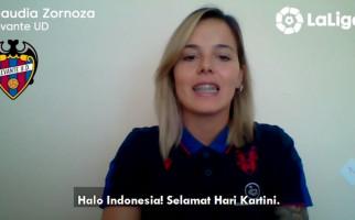 Wanita La Liga Spanyol Beri Ucapan Selamat Hari Kartini - JPNN.com