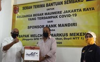 KBM Jaya Salurkan Bantuan Bank Mandiri untuk Warga Terdampak Covid-19 - JPNN.com