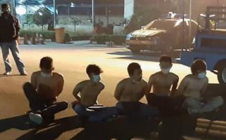 Malam Takbiran, Lima Pemuda dan Satu Wanita Malah Menggelar Pesta Terlarang, Astaga - JPNN.com
