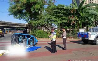 Tabrakan Maut Bajaj dengan Transjakarta, Aji Sofyan Tewas Seketika - JPNN.com
