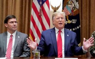 Menhan AS Tolak Keinginan Trump Kerahkan Militer Hadapi Perusuh, Ini Alasannya - JPNN.com