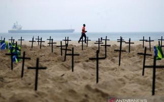 COVID-19 Terus Merenggut Nyawa, Kota di Brazil Ini Terpaksa Bongkar Makam Tua - JPNN.com