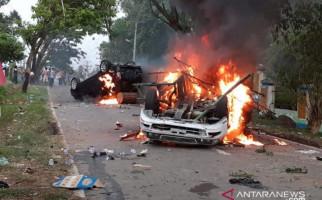 Polisi Pastikan Tindak Tegas Pelaku Perusakan saat Kerusuhan di Mandailing Natal - JPNN.com