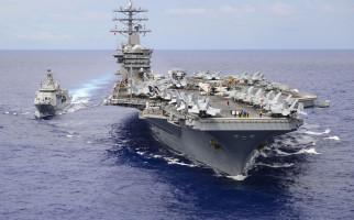 Dua Kapal Induk Amerika Bergerak ke Laut China Selatan, Siap Sikat Tiongkok? - JPNN.com