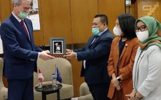 Bertemu Dubes Uni Eropa, Komisi XI DPR Menjajaki Peluang Ekspor Produk UMKM - JPNN.com