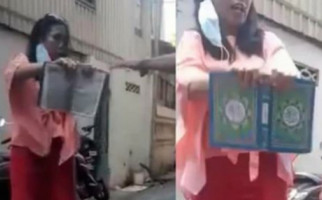 Wanita Pelaku Penistaan Agama di Makassar Ditangkap Polisi, Langsung Menangis Terisak-isak - JPNN.com
