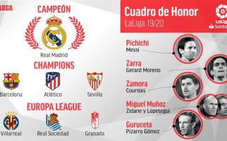 Klasemen Akhir La Liga dan Orang-Orang Terbaik Musim Ini - JPNN.com