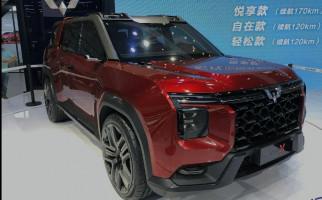Begini Tampang SUV Terbaru Wuling Hong Guang X - JPNN.com