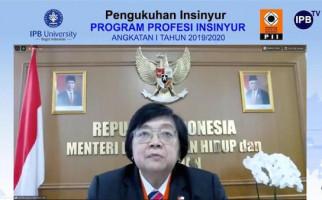 Menteri LHK: Pemerintah Mendukung Langkah dan Kiprah Profesi Insinyur Indonesia - JPNN.com