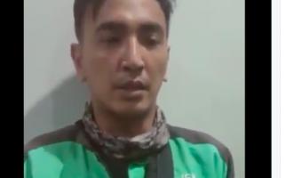 Marah Saat Ditegur Satpol PP DKI Jakarta, Driver Ojol Viral ini Minta Maaf - JPNN.com