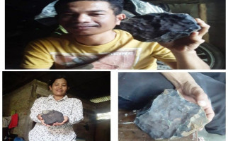 Benda Angkasa yang Jatuh Menghantam Rumah Warga Ditawar Rp200 Juta - JPNN.com