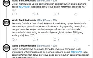 Bank Dunia Komentari Soal Omnibus Law Cipta Kerja - JPNN.com