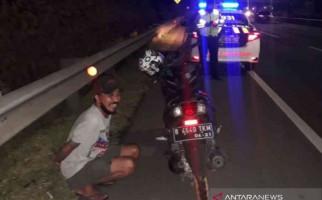 Bernadie Mengendarai Sepeda Motor Masuk Tol, Dikejar Petugas, Oh Ternyata - JPNN.com
