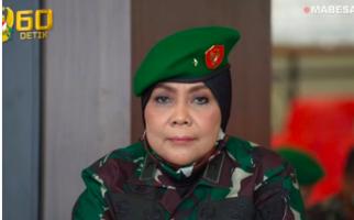 Keren, Inilah Sosok Brigjen Tetty, Jenderal TNI Wanita yang Kini Menjabat Posisi Dirkumad - JPNN.com