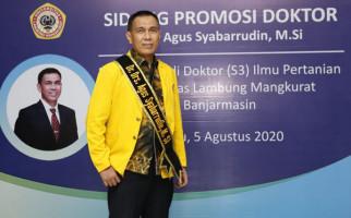 Meraih Gelar Doktor, Agus Syabarrudin Siap Membawa Bank Kalsel Makin Jaya - JPNN.com