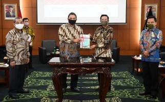 MPR Raih Predikat WTP Lagi, BPK Puji Ma'ruf Cahyono - JPNN.com