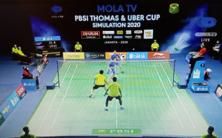 Minions Susah Payah Taklukkan Daddies di Simulasi Piala Thomas 2020 - JPNN.com