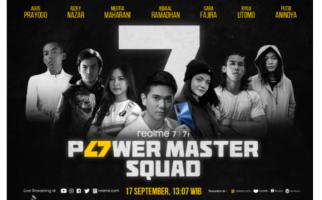 7 Bintang Power Master Squad jadi Ikon Peluncuran Realme Seri 7 - JPNN.com