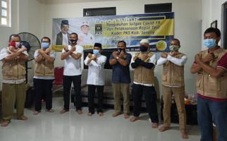 Jazuli Juwaini Sahkan Pembentukan Satgas Covid-19 PKS Kabupaten Serang - JPNN.com
