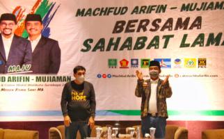Pasangan Machfud Arifin - Mujiaman Dapat Dukungan 7 Ribu Suara dari Sahabat Lama - JPNN.com