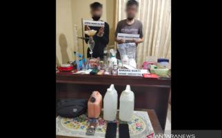 Rasain! Usaha 2 Pemuda Ini Merintis Home Industry Sabu-sabu Ketahuan - JPNN.com