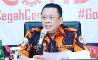 Respons Ketua MPR atas Penetapan 8 Tersangka Kasus Kebakaran Gedung Kejagung - JPNN.com