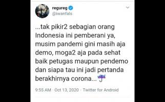 Iwan Fals: Siapa Tahu Ini Jadi Pertanda Berakhirnya Corona - JPNN.com