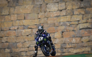 FP1 MotoGP Aragon Dingin dan Berangin, Vinales Paling Kencang, Banyak Pembalap Jatuh - JPNN.com
