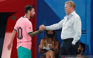 Jelang Laga Perdana Barcelona di Liga Champions, Koeman Malah Kritik Messi - JPNN.com