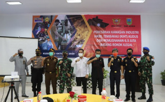 Pacu Geliat Industri Tembakau, Bea Cukai Resmikan KIHT Kudus - JPNN.com
