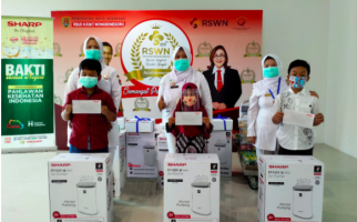 Sharp Indonesia Raih Nusantara CSR Awards 2020 - JPNN.com