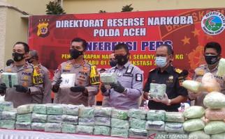 Komplotan Narkoba Ditembak Mati, 8 Lainnya Ditangkap, Barang Buktinya Banyak Banget - JPNN.com