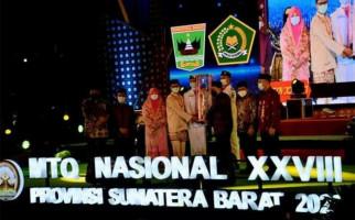 Sumatera Barat Ukir Sejarah di MTQ Nasional XXVIII - JPNN.com