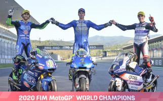 Simpan Buat Kenangan, Klasemen Akhir MotoGP 2020 - JPNN.com
